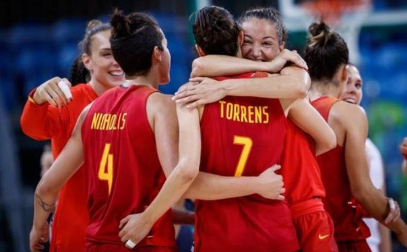 Calzado para mujeres altas. Selección femenina de baloncesto